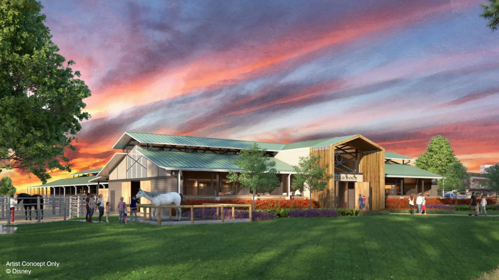 Artist rendering of new Circle D Horse Barn