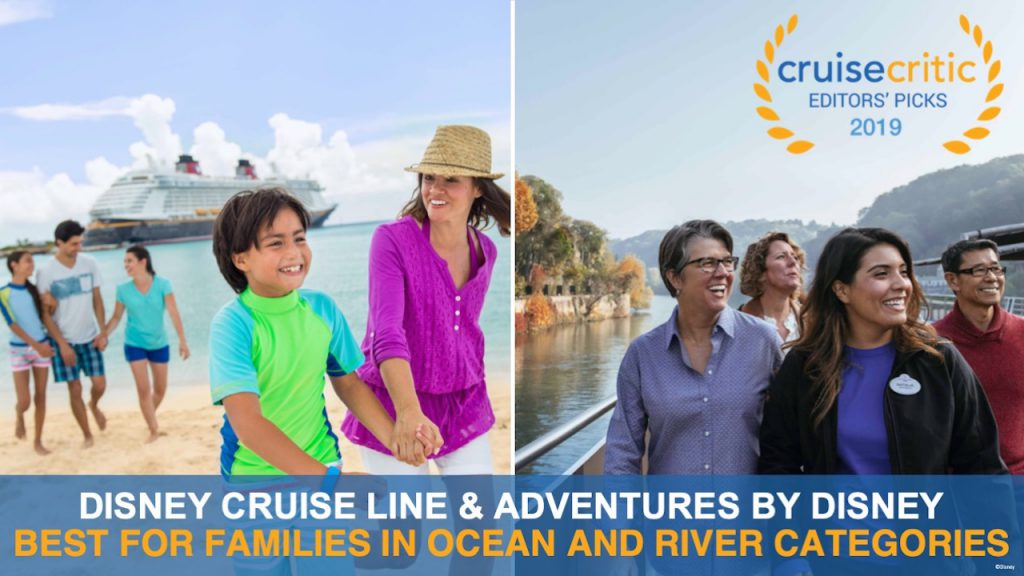 Disney Cruise Line and Adventures by Disney Editors Choice