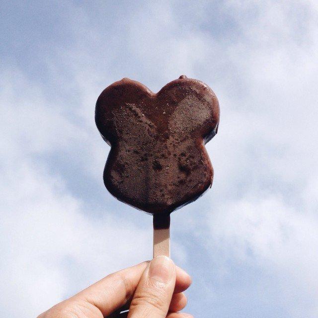 Disney Mickey Mouse icecream bar